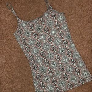 Nollie Patterned Tank Top